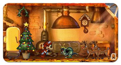 Creatures 1 Santa Norn at Christmas in June