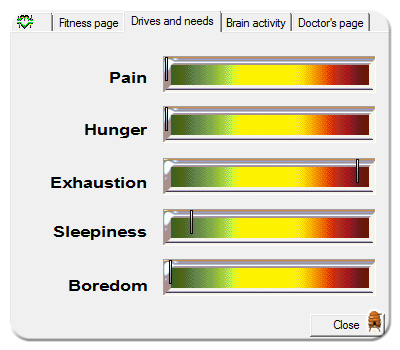Examining Exhaustion and Hunger