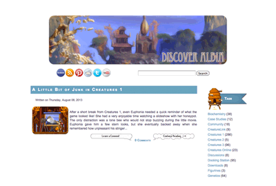 The Second Layout Design of Discover Albia