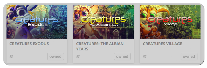 Buy the Complete Creatures Series at GOG