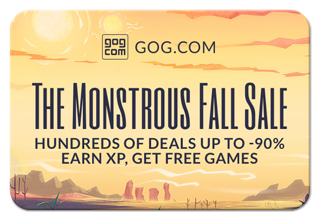 The GOG Monstrous Fall Sale and Creatures