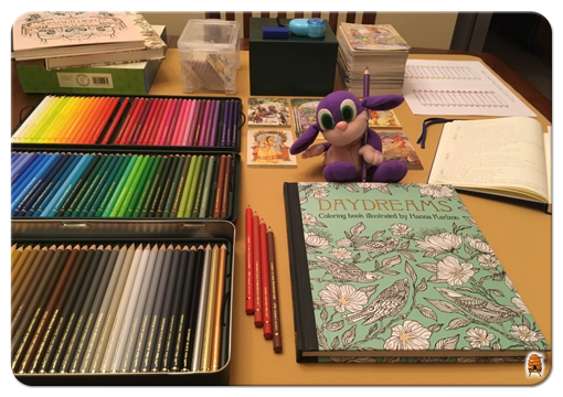 Fizzbee and the Wonderful World of Coloring Books