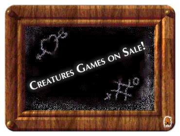A Special Sale on Creatures Games