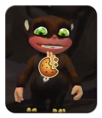 A Cookie for a Creatures Online Norn