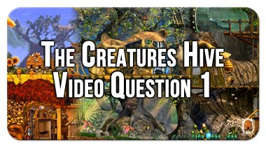 The First Question in a Creatures Video Series