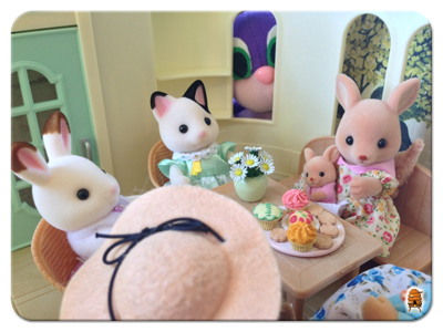 Calico Critters and a Curious Norndoll
