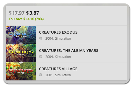 Buy Discounted Creatures Games